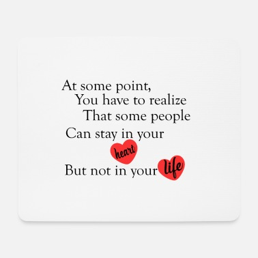 Cool Quote love quotes cool - Mouse Pad