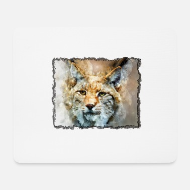 Tiger in the frame - Mouse Pad