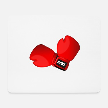 Boxing Gloves Red boxing gloves boxing gloves - Mouse Pad
