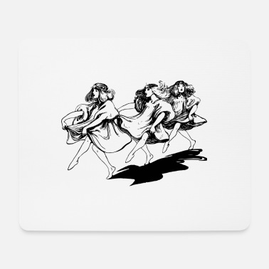 Dancer dancers - Mouse Pad