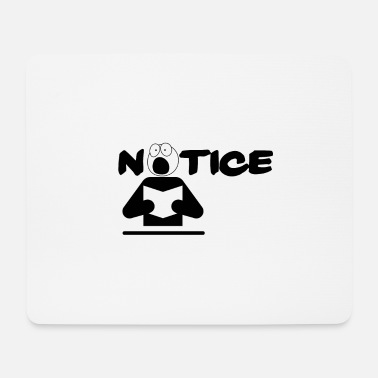 Beachten Beachten (notice) - Mousepad