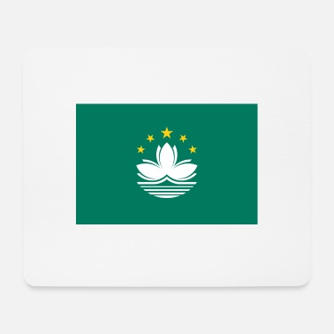 National National Flag Of Macau - Mousepad (bredformat)