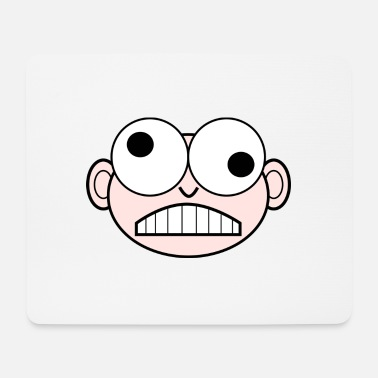 Eye-catcher The eye-catcher Cool eyes smiley gift - Mouse Pad