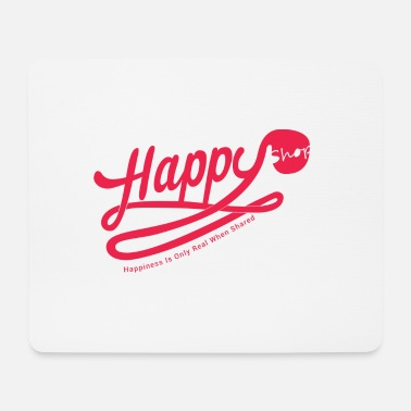Happiness happy happiness - Tapis de souris (format paysage)