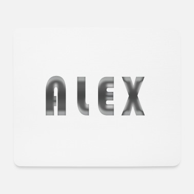 First Name First name Alex - Mouse Pad