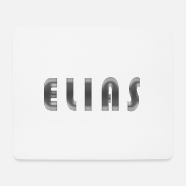 Birth Name Elias name first name Cool birth gift idea - Mouse Pad