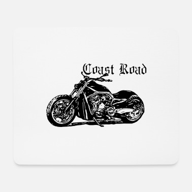 United Coast Road Motorrad Kollektion schwarz 1 - Mousepad (Querformat)