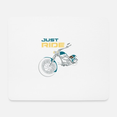 Just BIKE | JUST RIDE - Mousepad (Querformat)