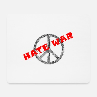 Guerilla Peace - hate - Mouse Pad
