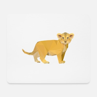 Cub lion cub - Mouse Pad
