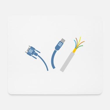 Tapis de souris Câble à commander en ligne   Spreadshirt