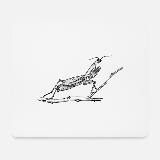 Insect Mouse Pads - insect, - Mouse Pad white