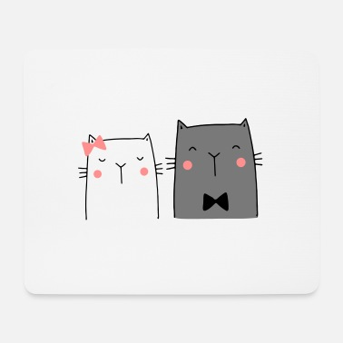 Couples Cats Couple Couple Couple Wedding Couple Wedding - Mouse Pad