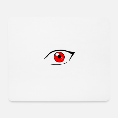 Red Eyes Red eye - Mouse Pad