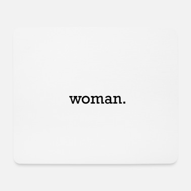 womanblack - Mousepad