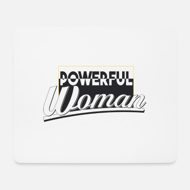 powerful woman - Mouse Pad