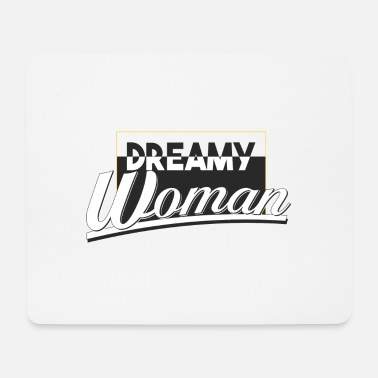 dreamy woman - Mouse Pad