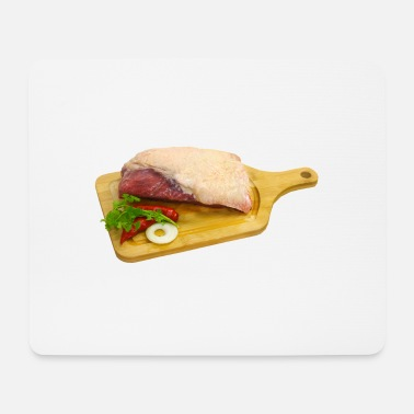 bbq barbecue barbecue burger beef bacon steak spare - Mouse Pad