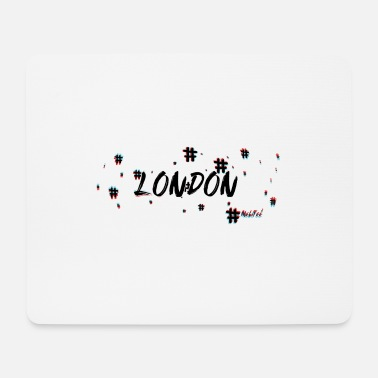 London London # 3d - Mousepad (Querformat)