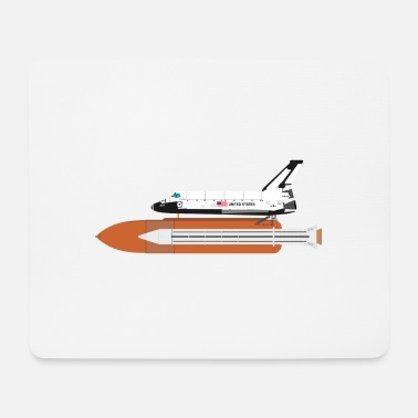 Space Space Shuttle - Mouse Pad