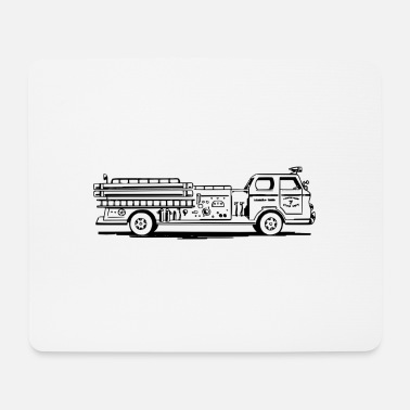 Engine Fire Engine - Tapis de souris