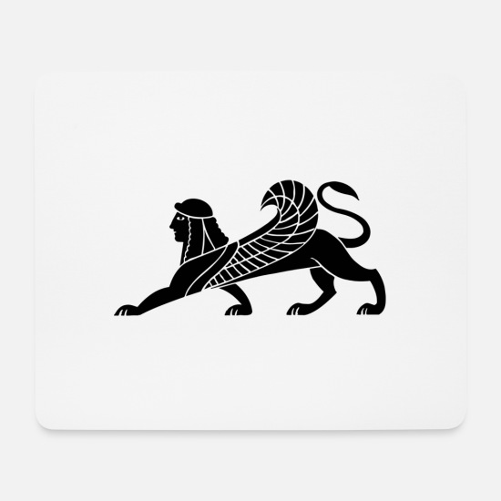 Wing Mouse Pads - mythical creatures - Mouse Pad white