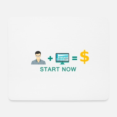 Start Online Business Start - Motivation - Tappetino per mouse (orizzontale)