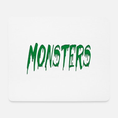 Monsters monsters - Mouse Pad
