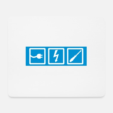 Electrician electrician, professions, electrician occupation, electrician - Mouse Pad