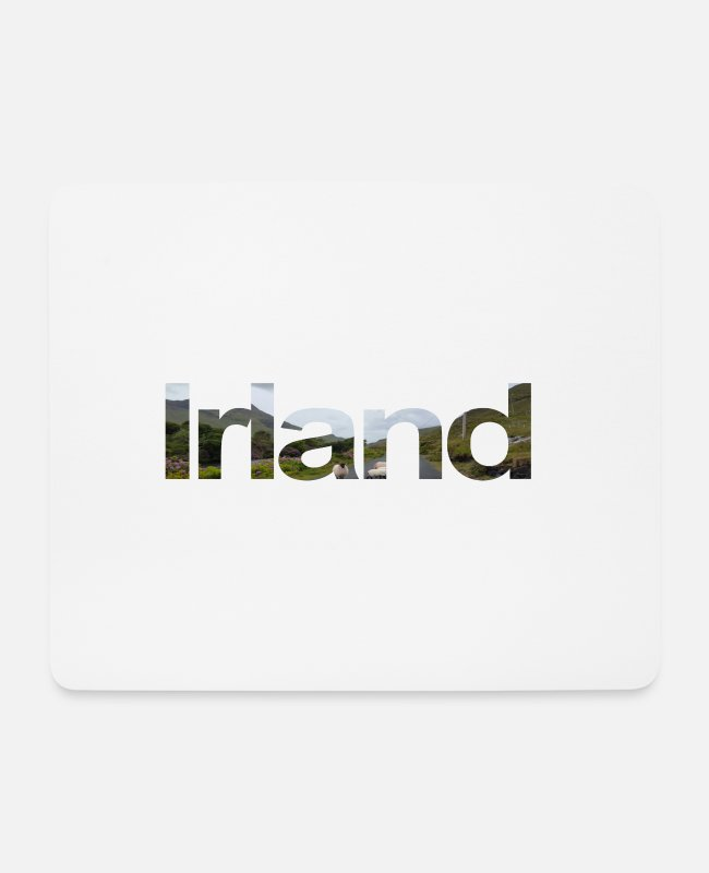 Travel Mouse Pads - Ireland - Mouse Pad white