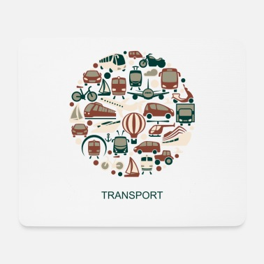 Transport transport - Mouse Pad