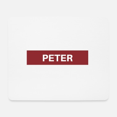 Pet Peter - Mousepad (bredformat)