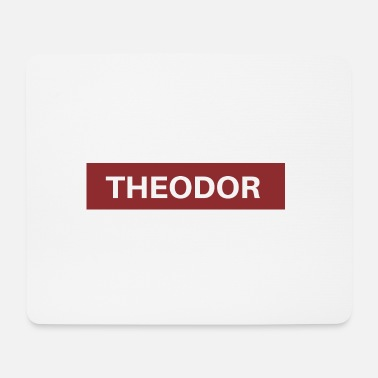 Theodore Theodor - Mouse Pad