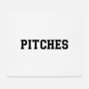Pitch pitches - Mouse Pad