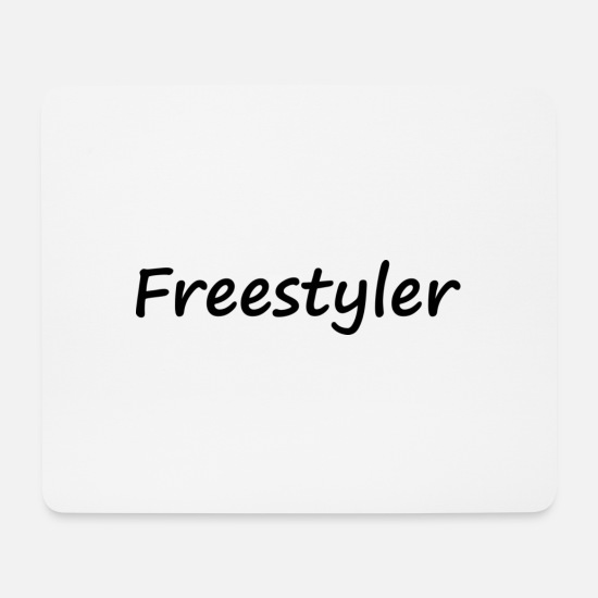 Gift Idea Mouse Pads - freestyler - Mouse Pad white