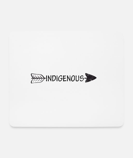 Navajo Mouse Pads - Indians: Indigenous - Mouse Pad white