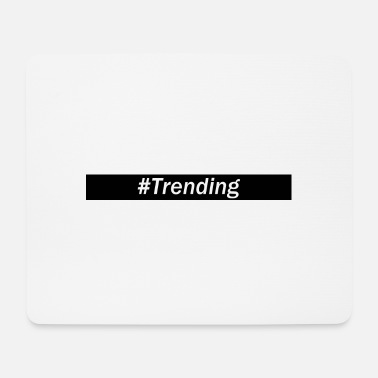 Trend hashtag trend - Tappetino per mouse (orizzontale)