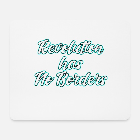 Politics Mouse Pads - This is the awesome revolutionary Shirt Those who - Mouse Pad white