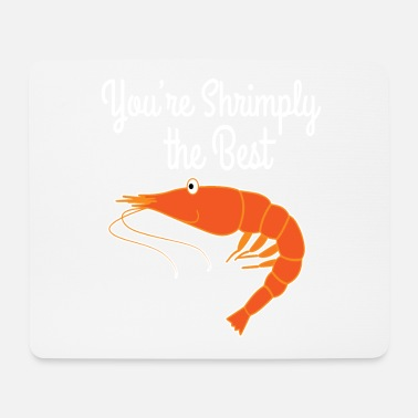 Deep Sea Best gift for person who loves seafoods, shrimp - Mouse Pad