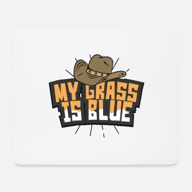 Bluegrass Country Musik Bluegrass - Mousepad