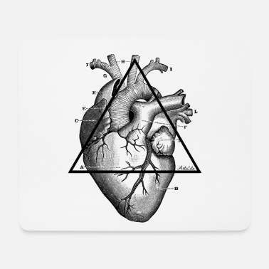 My Heart My Heart, my Heart! - Mouse Pad