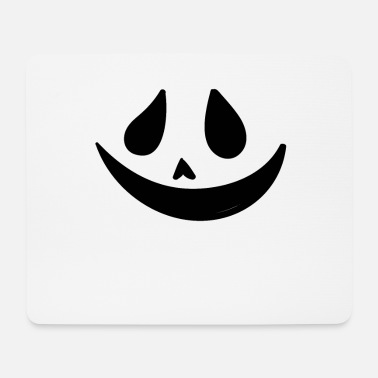 Party Ghost Smiling Face - Mouse Pad