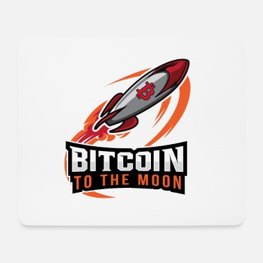 Occupy BITCOIN TO THE MOON - Mousepad (Querformat)