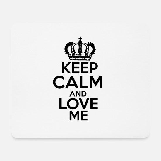 Girlfriend Mouse Pads - Keep Calm! - Mouse Pad white