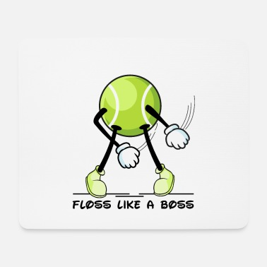 Like A Boss Floss Dance Tennis Ball Floss like a Boss - Mouse Pad