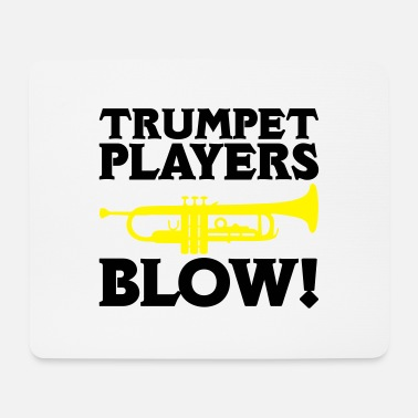 Blowen Trumpet Players Blow - Muismat