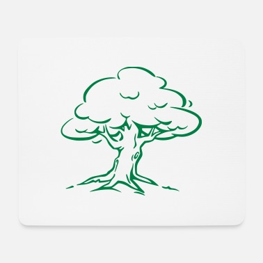 Tree Forest Nature - Mouse Pad