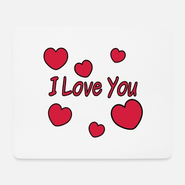 Love I Love You - Mouse Pad