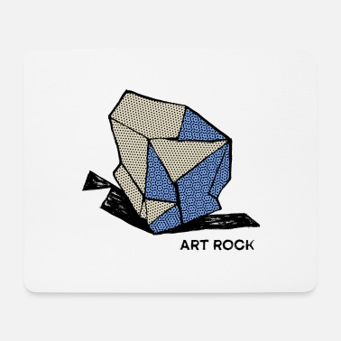 Cool ART ROCK No 1 color - Mouse Pad