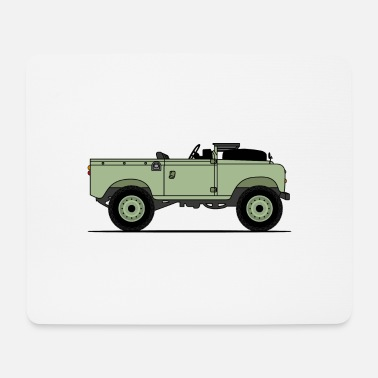 Navy Series 90 Window Down Green - Mouse Pad